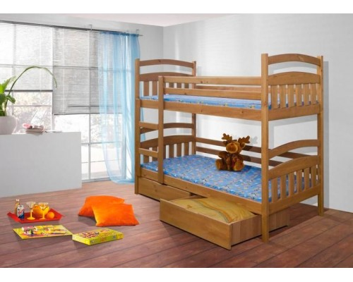 Кровать деревянная двухярусная №6