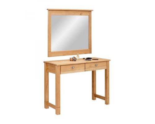 """Стол туалетный """"Рауна"""" с зеркалом"""