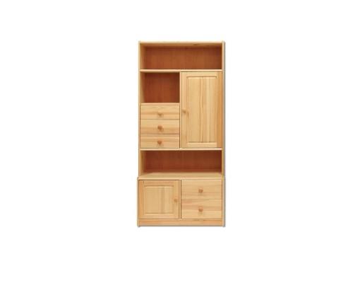 Шкаф книжный КВ112