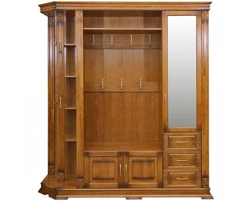 Шкаф открытый угловой Верди №1